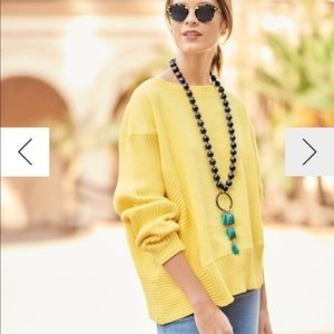 Neon Buddha cotton knit top